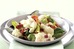 cauliflower-lettuce-salad